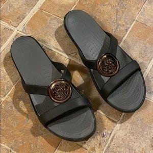 CROCS sandals size women's 8
